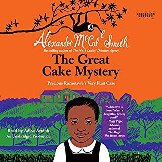 The Great Cake Mystery: Precious Ramotswe's Very First Case audiobook cover art