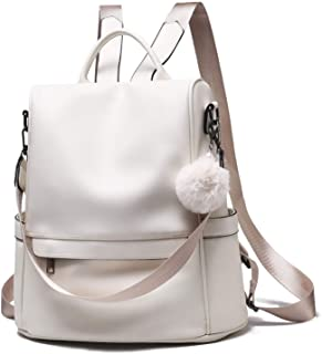 Backpack Purse for Women Large Capacity Anti Theft Leather Backpack Convertible Girls Shoulder Bag Bookbag