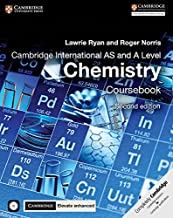 Cambridge International AS and A Level Chemistry Coursebook with CD-ROM and Cambridge Elevate Enhanced Edition (2 Years)