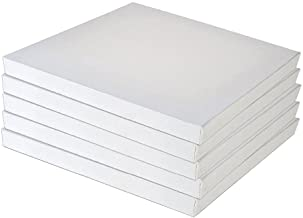 5 Pack Set Blank Blank Canvas Packs Stretched Canvas for Oil Acrylic Painting
