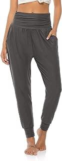 Womens Yoga Sweatpants Loose Workout Joggers Pants Comfy Lounge Pants with Pockets
