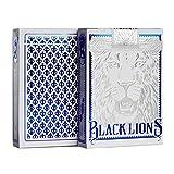 David Blaine Black Lions Spielkarten (BLAU) Edition Deck