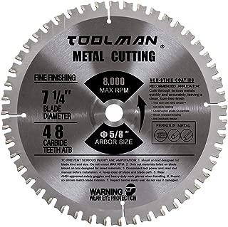 Lion Tools STH004 Toolman Premium Multifunctional Carbide-Tipped Circular Saw Blade Universal Fit 7-1/4
