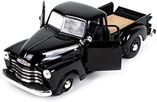 GCM 1950 Chevrolet 3100 Pickup 1:25 Sports Car Model Original Car Simulation Alloy Car Model Birthday Gift ( Color : Black )