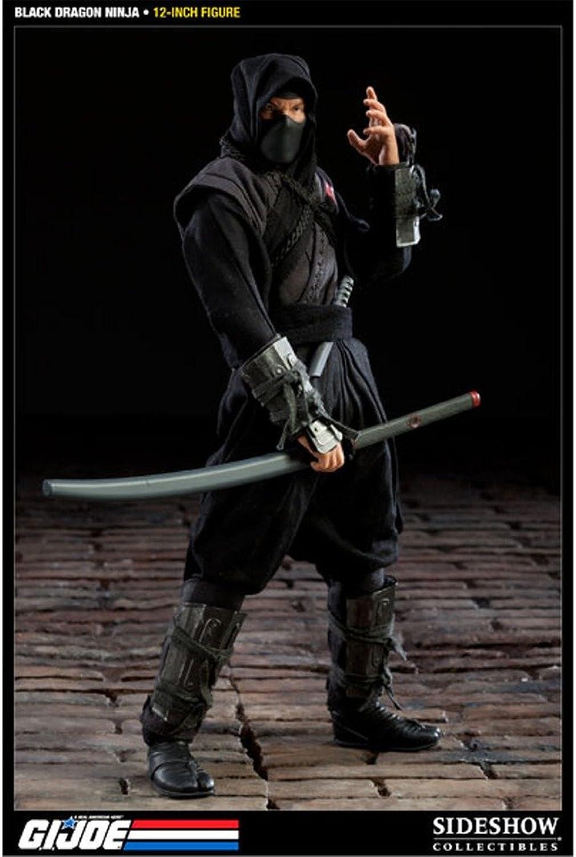 G.I. Joe Actionfigur schwarz Dragon Ninja 30 cm