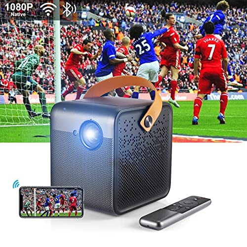 Formovie Dice Proyector PortáTil Inteligente 1080P FHD, 700 Ansi Lumen, Enfoque AutomáTico,...