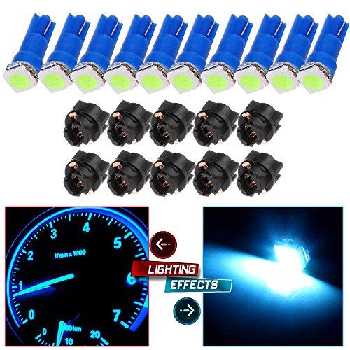 05 silverado led dash light blue - 5