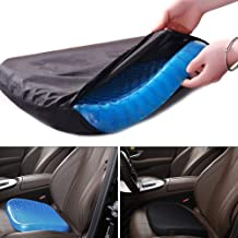 Seat Cushion Cool Gel Memory Egg Sitter Coccyx Ventilated Breathing Pads for Indoor Home Floor Car Office Chair Sciatica Tailbone Pain Relief Wheelchair