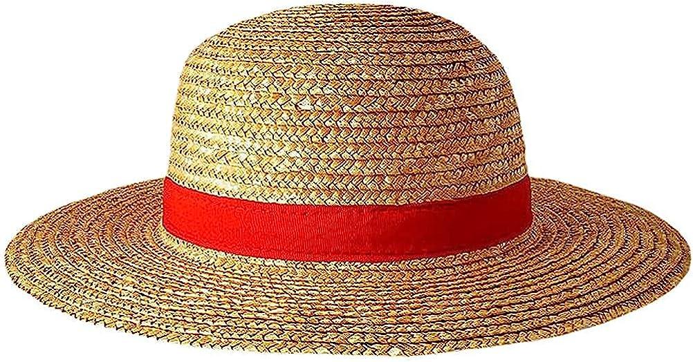 Luffy 100% quality warranty! Straw Hat Handmade Animation Luxury goods Costume Cosplay Cosp