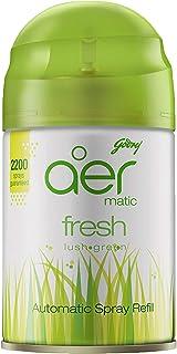 Godrej aer matic, Automatic Air Freshener Refill Pack - Fresh Lush Green (225 ml)