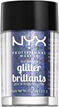 NYX PROFESSIONAL MAKEUP Face & Body Glitter, Violet, 0.08 Ounce