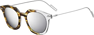Dior DIOR MASTER HAVANA SHADED CRYSTAL SILVER/GREY SILVER 47/22/150 men Sunglasses