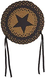 IHF Home Decor Braided Area Rug Round Chair Cover Pad 15