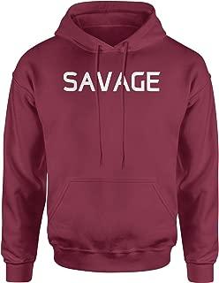 Best savage hoodie maroon Reviews