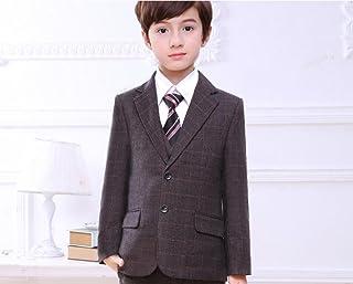 (マリア)MARIAH フォーマル スーツ 男の子 子供タキシード キッズ ベスト set 結婚式 発表会 七五三 5点セット