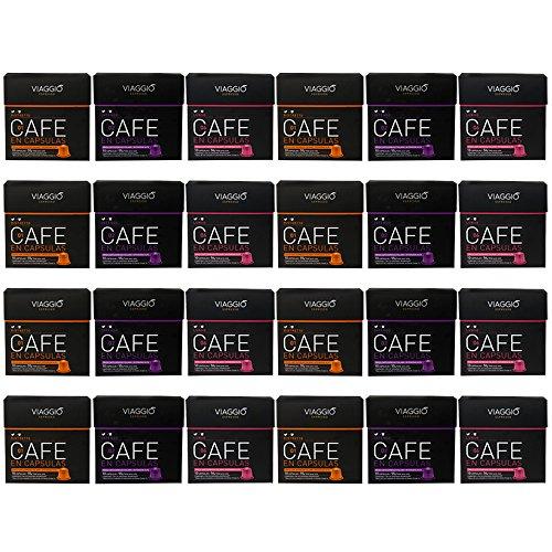 VIAGGIO ESPRESSO - 240 Cápsulas de Café Compatibles con Máquinas Nespresso - GRAN COLECCIÓN
