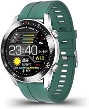 UIEMMY slim horloge mode volledige cirkel touchscreen heren slimme horloges IP68 waterdichte sport fitness horloge luxe sl...