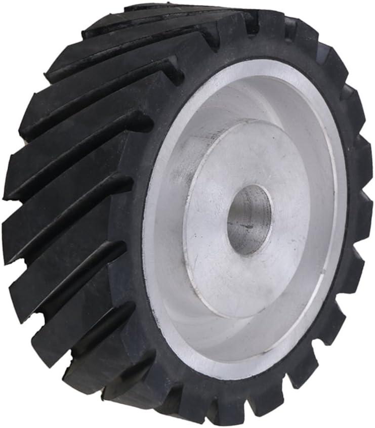 ruota di contatto anima in alluminio Superficie dentata 100 x 50 x 25 mm levigatrice a nastro