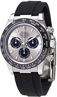 Rolex Oyster Perpetual Cosmograph Daytona 18K White Gold Mens Chronograph Watch 116519LN