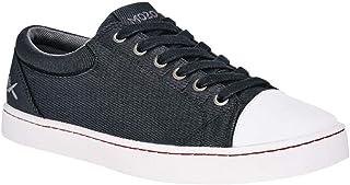 Shoes for Crews M31165 - MOZO GRIND Sneaker da uomo in tela antiscivolo, NERO/BIANCO - Certificato di sicurezza EN