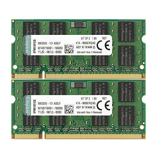 Kingston KTA-MB667K2-4G 2x2GB DDR2-SDRAM 667MHz Kit für Apple