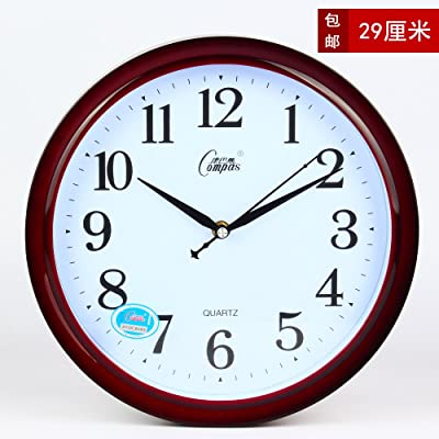 CGGGHY The Living Room Creative Modern Clocks Wall Chart Bedroom Mute Personality Wall Clock Quartz Clock