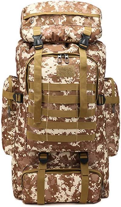 Tactical half Hiking Backpack Travel Daypacks Waterproof M cheap 80 Liters