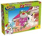 Lisciani Giochi 54107 - Puzzle DF Plus Oggy e i Maledetti Scarafaggi, 108 Pezzi, Multicolore