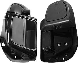 XMT-MOTO Lower Vented Leg Fairing Glove Box For Harley Touring Road King, Street Glide,Road Glide, Electra Glide, org equipment on FLHTCU 2014-2019