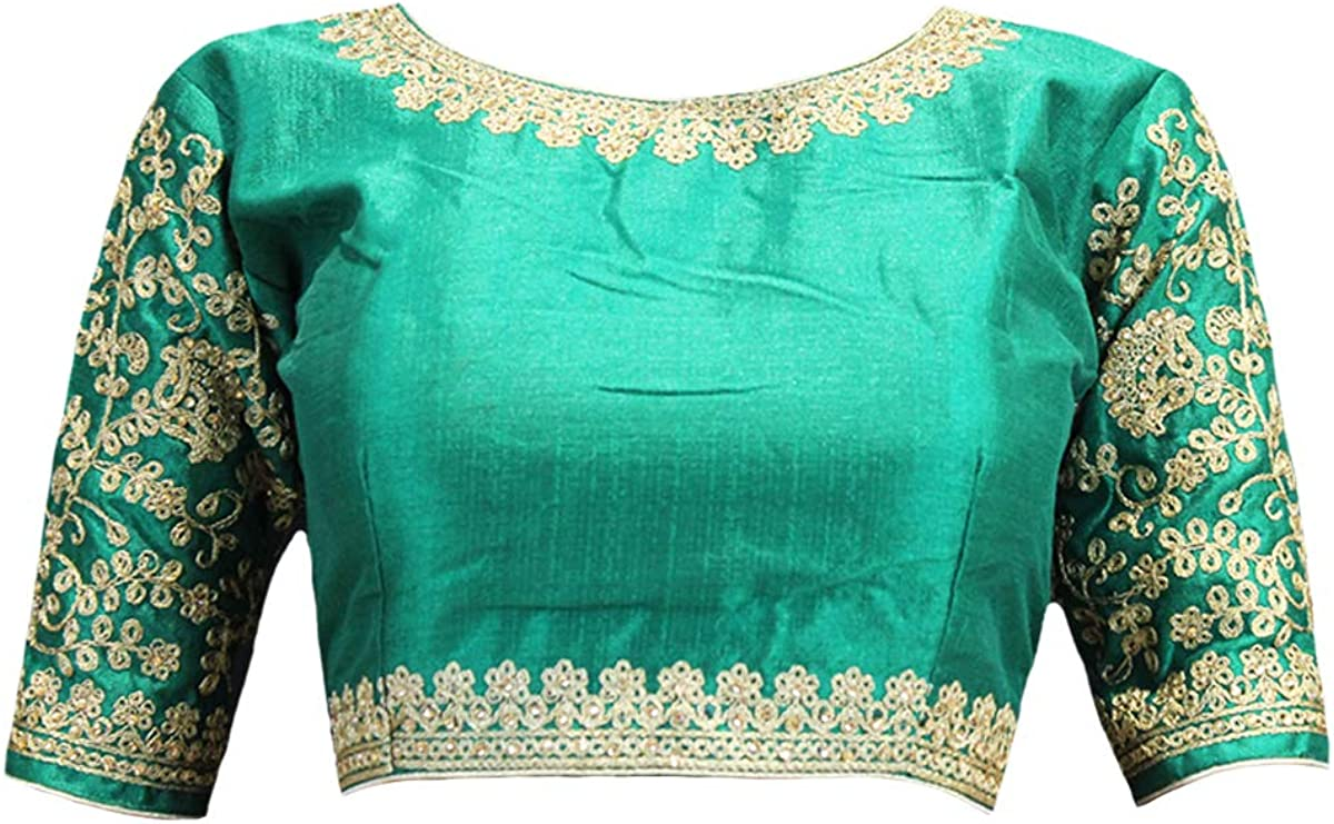 Saree Luxury goods blouses for women Sales sale readymade adjustab with stitched fully -
