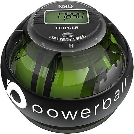 Powerball Serie 280Hz Autostart - Palla per Esercizi Giroscopio - Migliora la Presa, Rafforza i Muscoli dell'Avambraccio - Riabilita da Dolore e Fratture ai Polsi