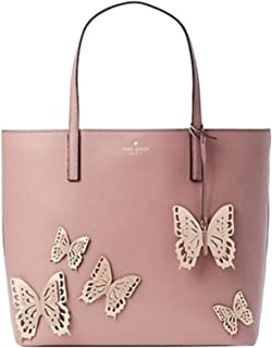 Kate Spade All The Buzz Butterfly Little Len Tote - Dusty Peony