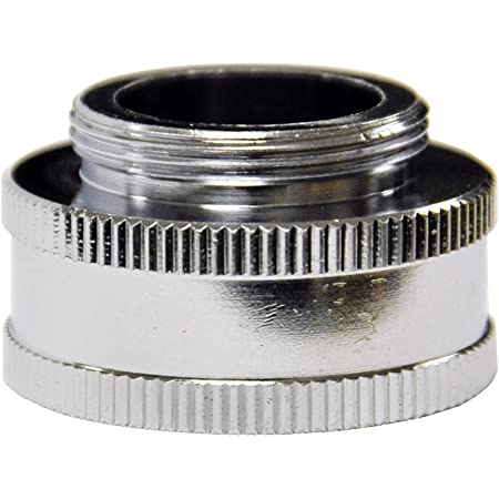 LASCO 09-1861 Snap Coupler Male Hose Thread Quick Connect Dishwasher Adapter