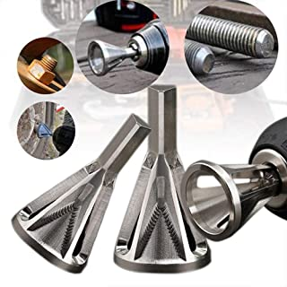 LAIWUSSY (US shipment) Deburring External Chamfer Tool Metal Remove Burr Tools for Chuck Drill Bit Tool Remove Burr Kitchen Home Accessory