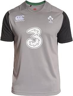 Canterbury Ireland Rugby Training Jersey - Adult - Atomic Grey -