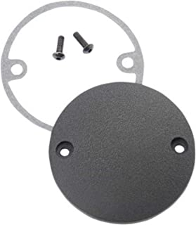 Tuning_Store Wrinkle Black Timer Ignition Points Cover Harley Big Twin Evo 84-99 Softail Dyna Cool Tuning