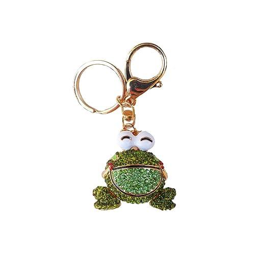 Sizzle City Rhinestone Bling Fashion Novelty Animal Charm Keychains 4405f0c66
