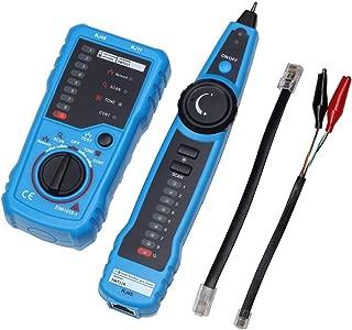 Multimeter FWT11 RJ11 RJ45 Cat5 Cat6 Telephone Wire Tracker Tracer Toner Ethernet LAN Network Cable Tester Line Finder C.W.USJ