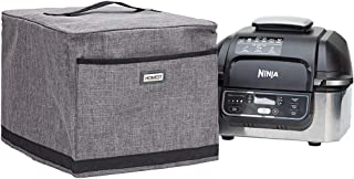 HOMEST Dust Cover for Ninja Foodi 5-in-1 Indoor Grill with 4-Quart Air Fryer with Roast, Wipe Clean Foil Liner for Easy Cl...