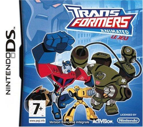 TRANSFORMERS ANIMATED / Nintendo DS Juego EN ESPANOL Compatible Nintendo DS LITE-DSI-3DS-2DS-3DS XL-2DS XL-NEW 3DS-NEW 3DS XL-NEW 2DS XL
