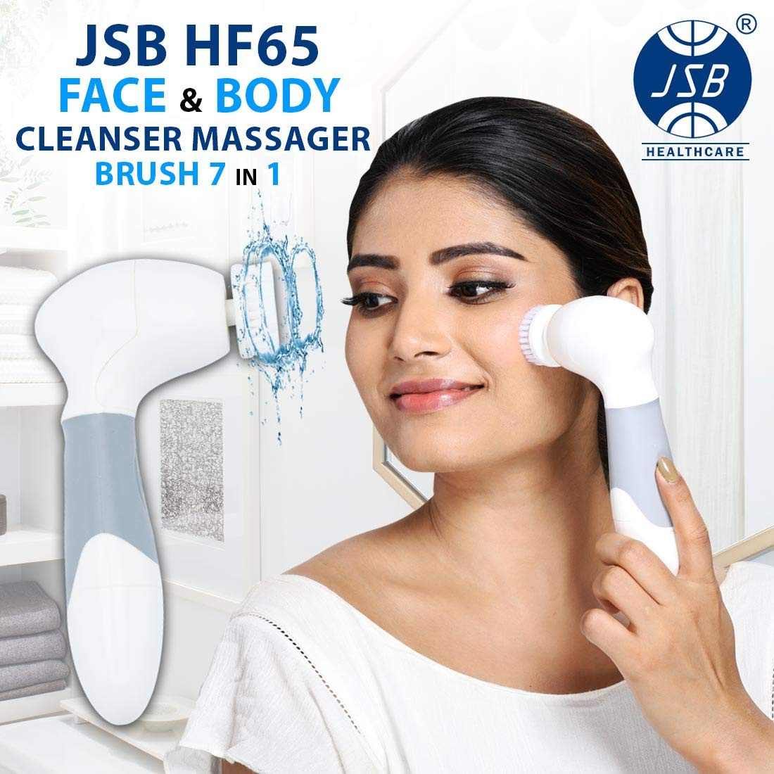 Jsb Hf65 Makeup Removal Face Body Cleanser Massager Brush Machine