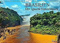 Brasilien. Der Iguazú-Nationalpark (Wandkalender 2022 DIN A4 quer): Iguazú Wasserfaelle - Das Grosse Naturwunder mitten im Dschungel von Suedamerika. (Monatskalender, 14 Seiten )