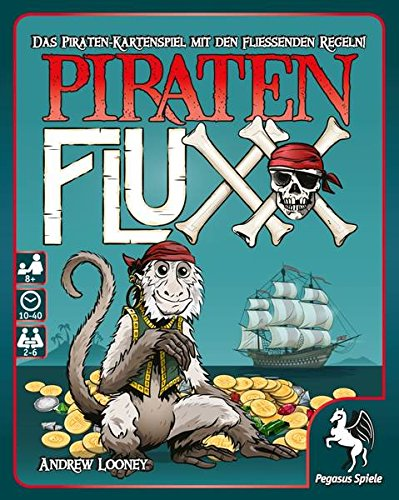Pegasus Spiele 17477G - Piraten Fluxx