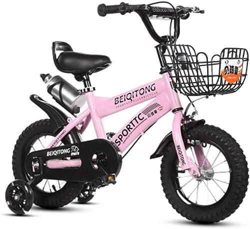 colores increíbles YUMEIGE Bicicletas Bicicleta para Niños Niños Niños para niñas Niños Niños Ciclismo con Ruedas de Entrenamiento para 12 14 16 18 Pulgadas Bicicleta Adecuada para 2-9 años Niño 4 Colors Disponible  la mejor selección de