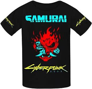 Cyberpunk 2077 Youth Cotton T-Shirts Unisex Child Short Sleeve Tee Shirt