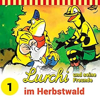 Lurchi und seine Freunde im Herbstwald Titelbild