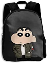 Kids Backpack Cool Crayon Shin-chan Print Childrens School Bag Teenager Bookbag for Boys Girls