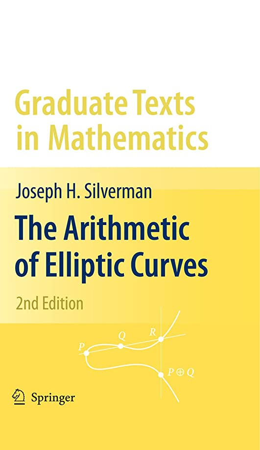 解釈的翻訳者スノーケルThe Arithmetic of Elliptic Curves (Graduate Texts in Mathematics Book 106) (English Edition)