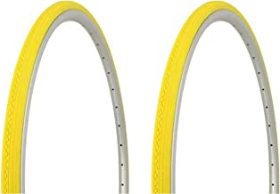 Lowrider Tire Set. 2 Tires. Two Tires Duro 700 x 23c Yellow/Yellow Side Wall HF-156. Bicycle Tires, Bike Tires, Track Bike Tires, Fixie Bike Tires, Fixed Gear Tires