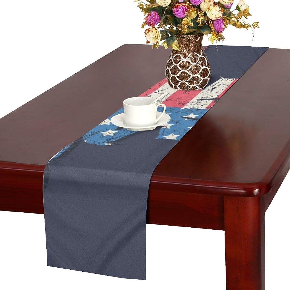 ディレクトリ航空便南GGSXD テーブルランナー 親しい 牛 クロス 食卓カバー 麻綿製 欧米 おしゃれ 16 Inch X 72 Inch (40cm X 182cm) キッチン ダイニング ホーム デコレーション モダン リビング 洗える